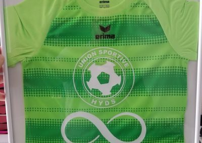 flocage maillot sport