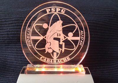trophées Plexiglas